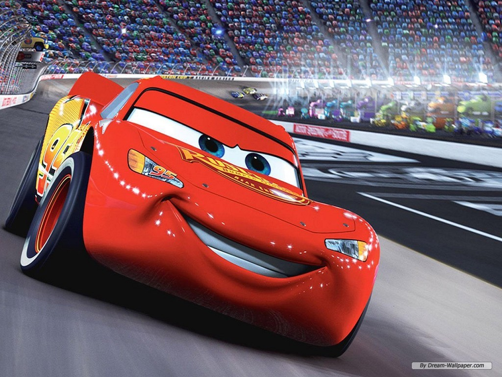 1024x768 - Wallpaper Cars Cartoon 41