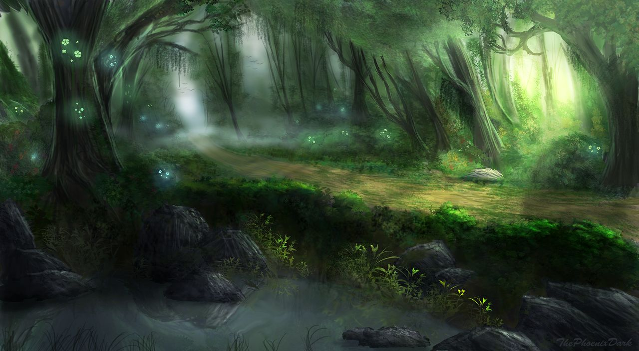 1280x704 - Elven Forest 5