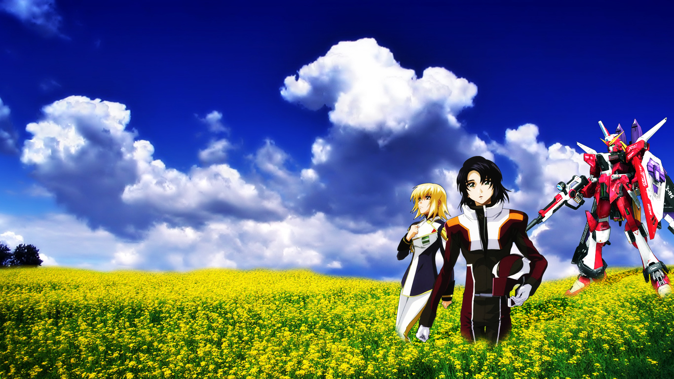 1366x768 - Mobile Suit Gundam Seed Destiny Wallpapers 30