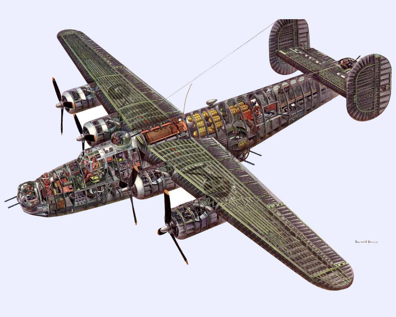 1280x1024 - Consolidated B-24 Liberator Wallpapers 21
