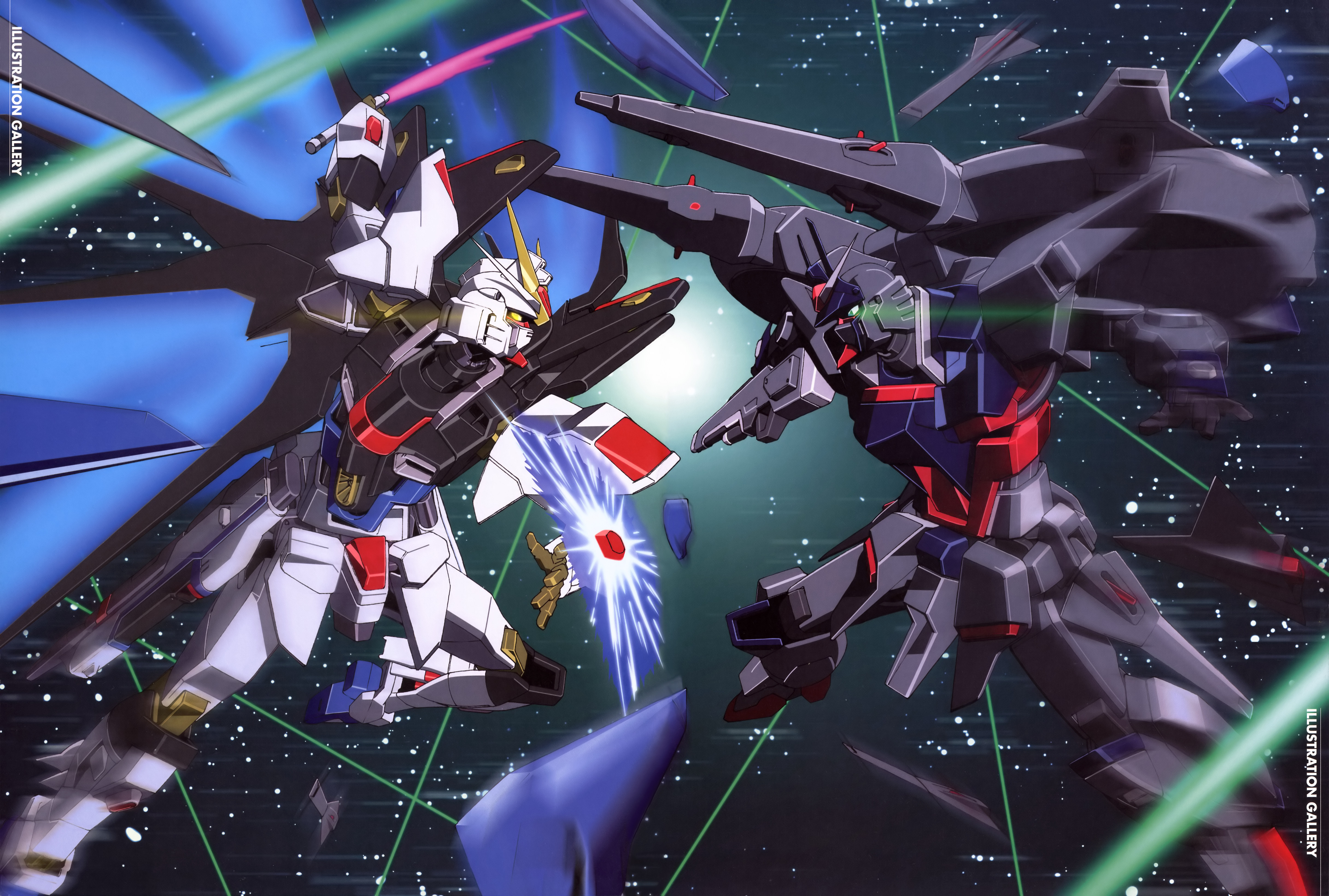 5770x3892 - Mobile Suit Gundam Seed Destiny Wallpapers 2