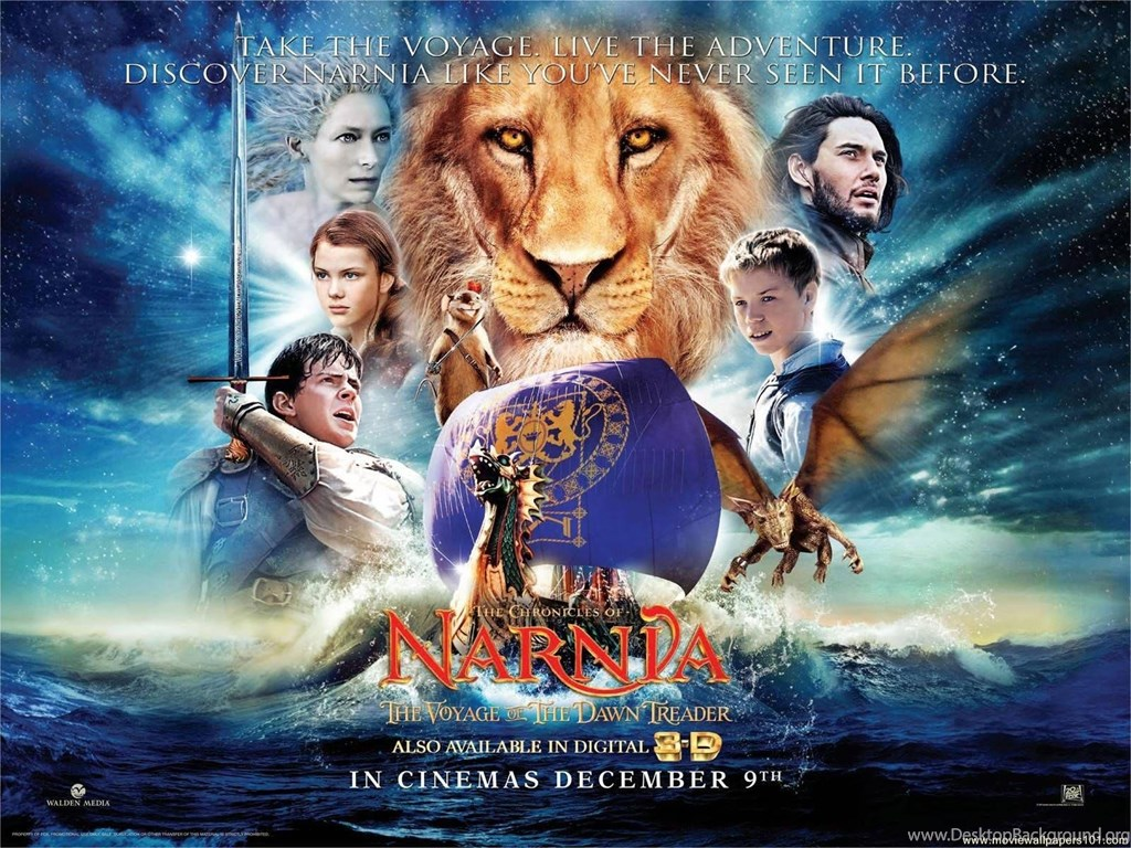 1024x768 - The Chronicles of Narnia: The Voyage of the Dawn Treader Wallpapers 14