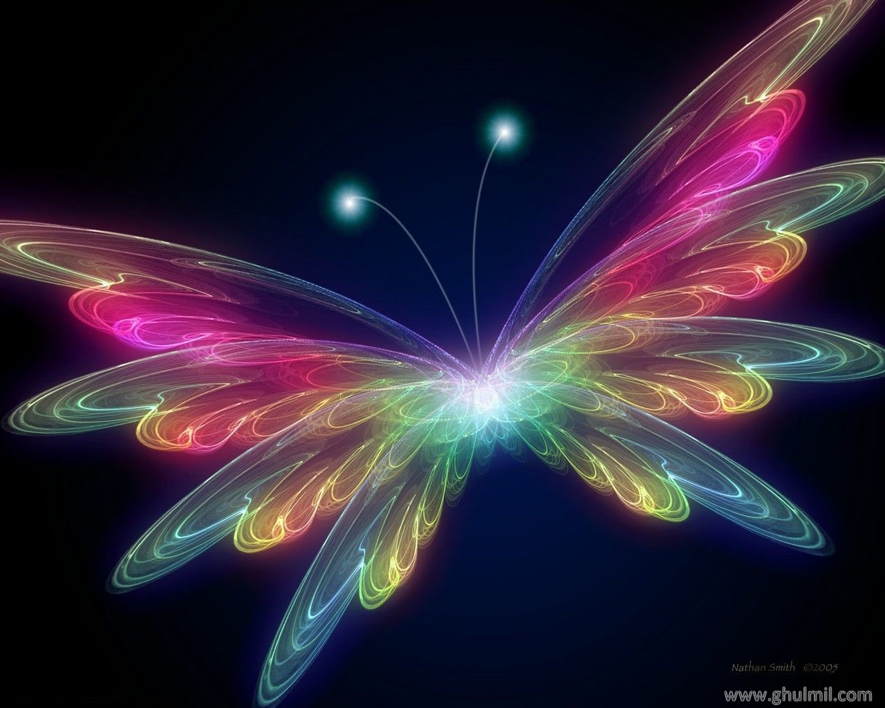 1280x1024 - Pretty Butterfly Backgrounds 41
