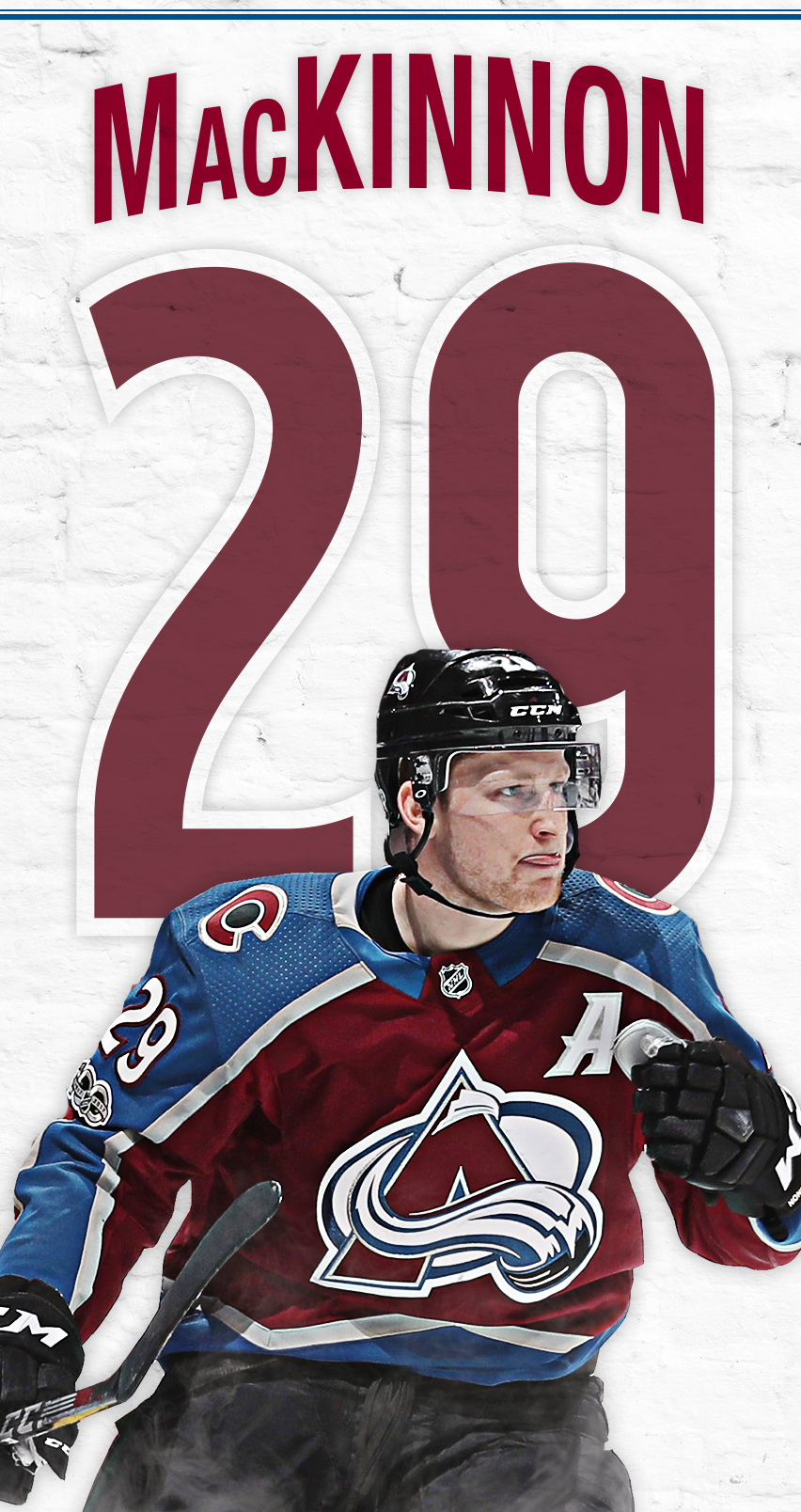 852x1608 - Colorado Avalanche Wallpapers 10