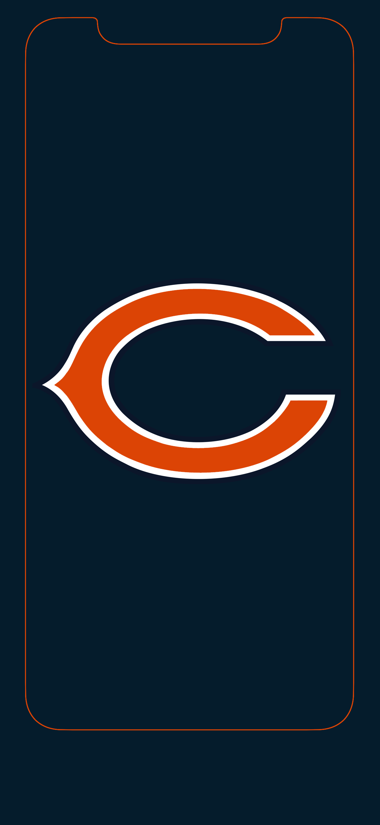 1301x2820 - Chicago Bears Wallpapers 13