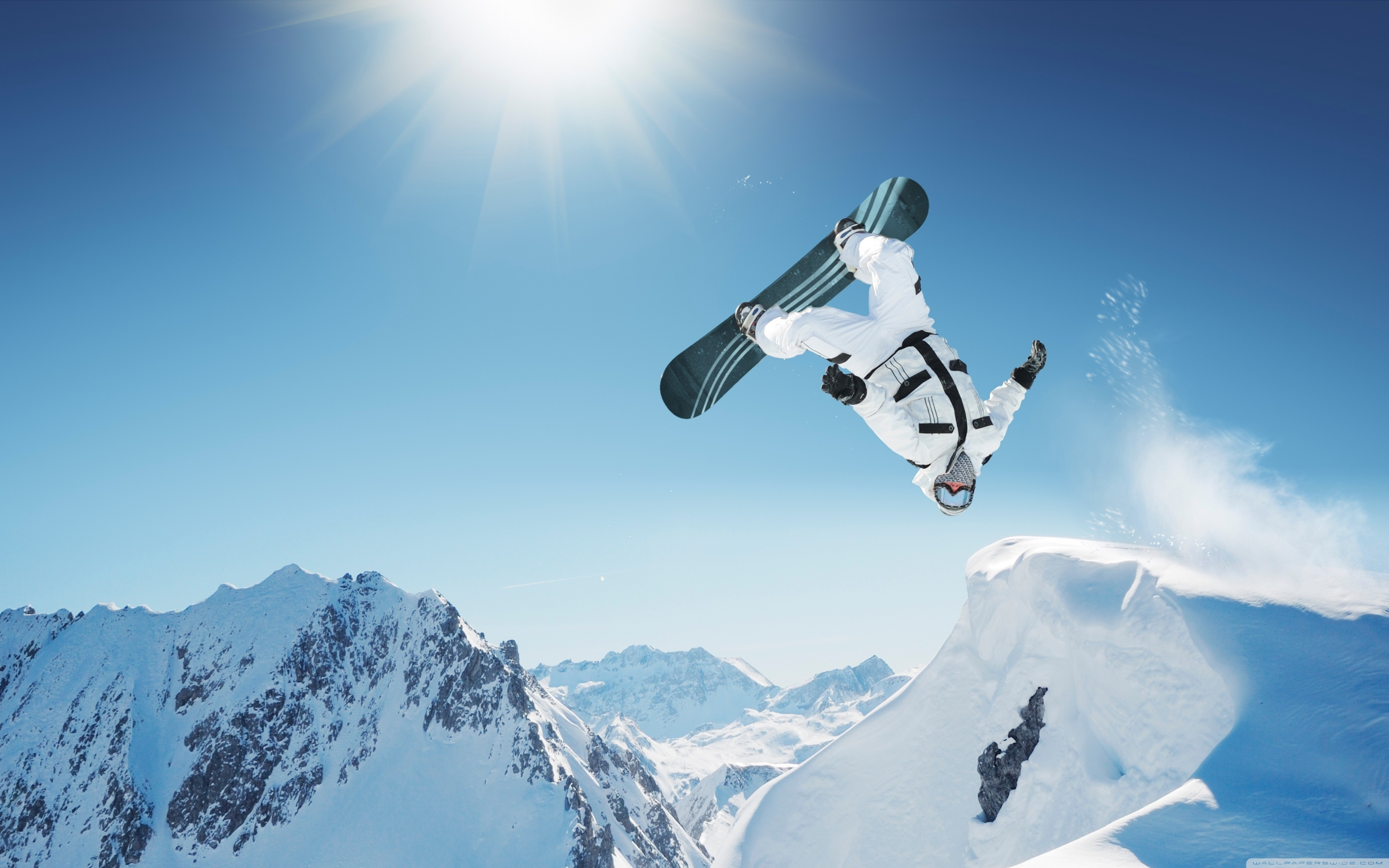3840x2400 - Snowboarding Wallpapers 7