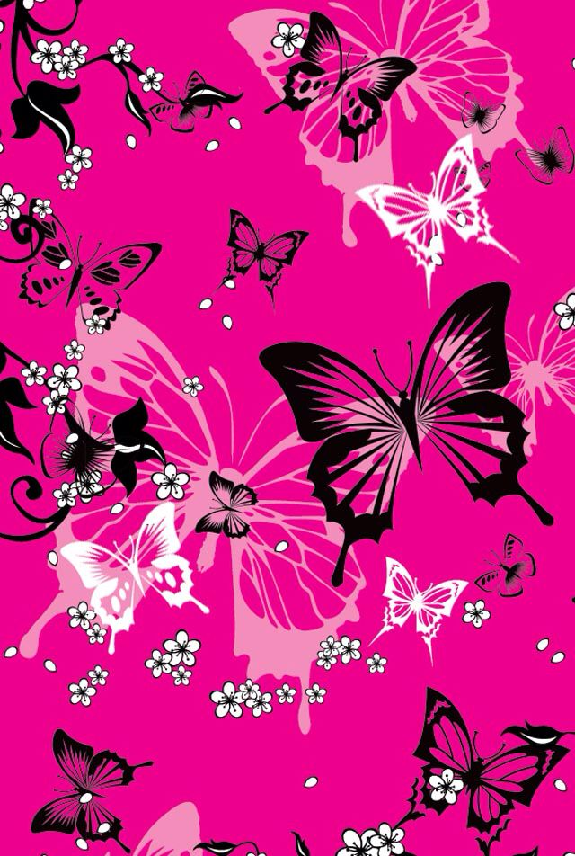 640x952 - Pretty Butterfly Backgrounds 23