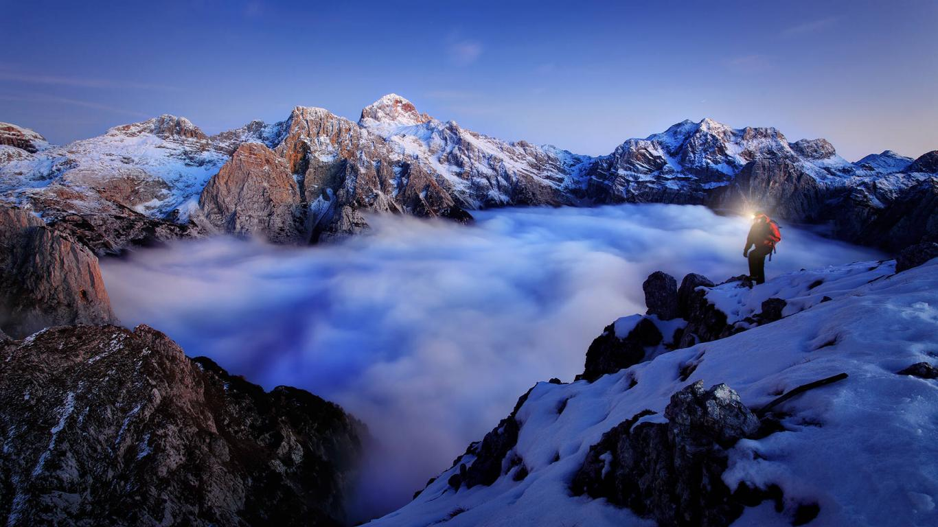 1366x768 - Mountaineering Wallpapers 33
