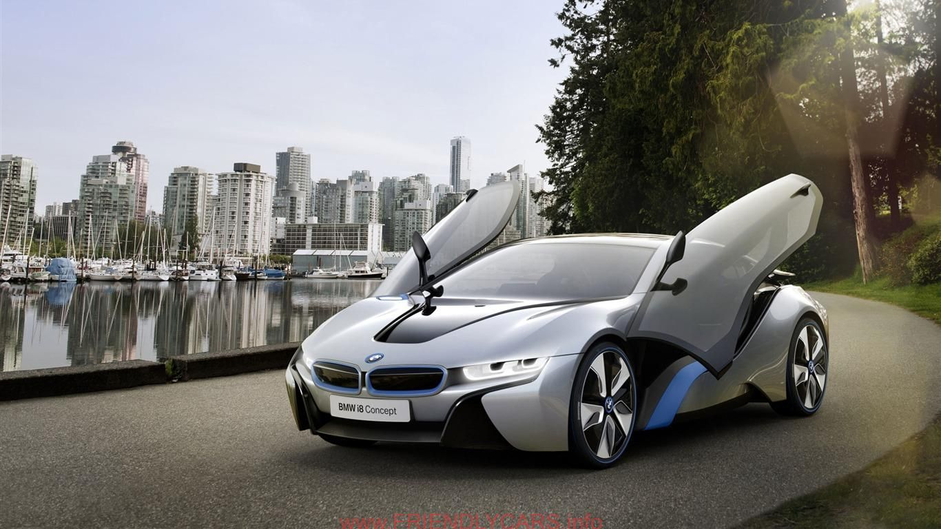 1366x768 - BMW i3 Concept Wallpapers 8