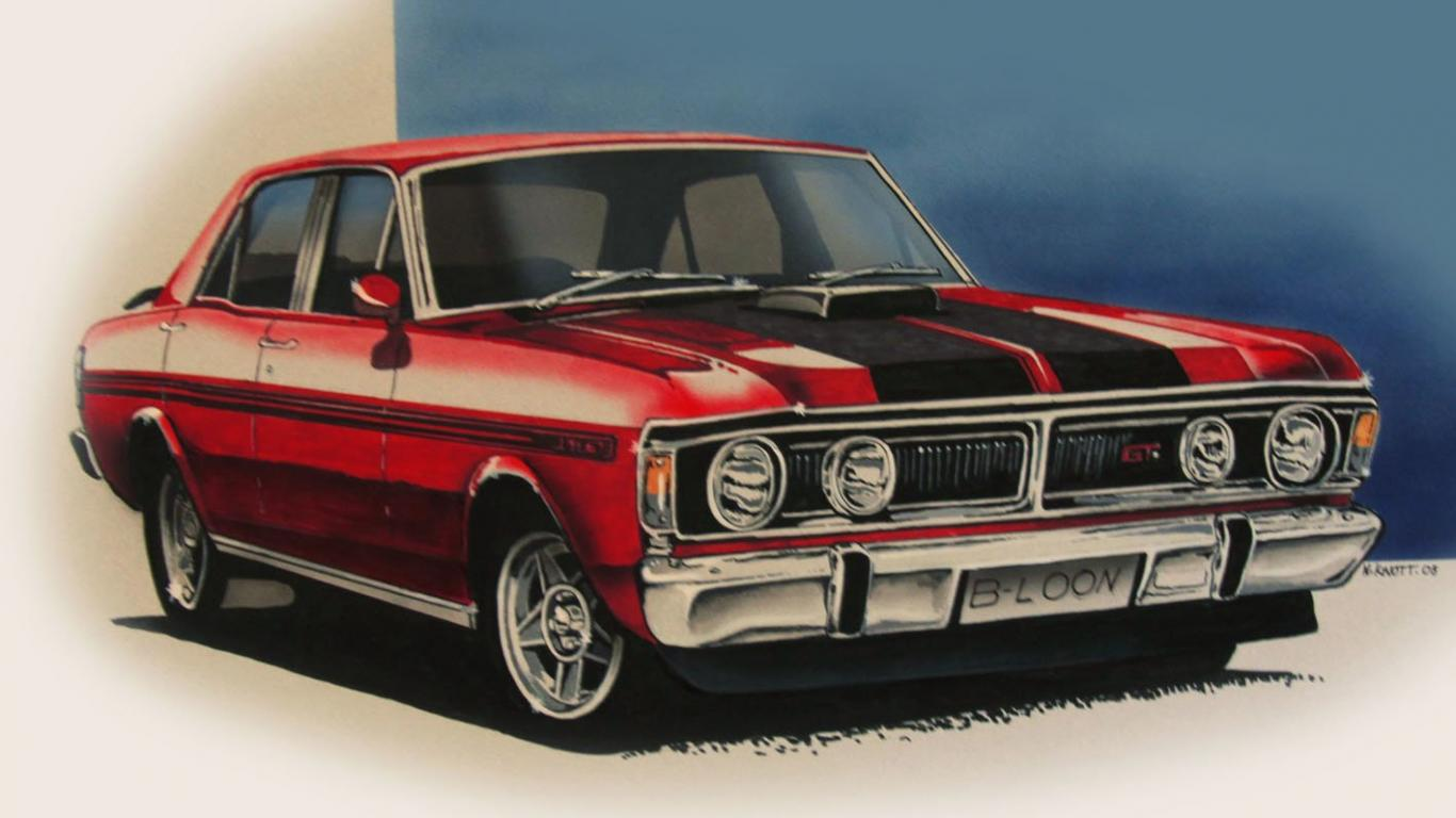 1366x768 - Ford Falcon Wallpapers 27