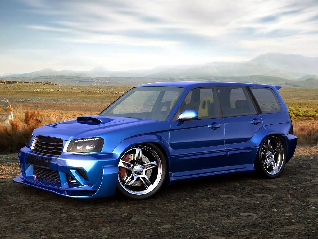 1024x768 - Subaru Forester Wallpapers 28
