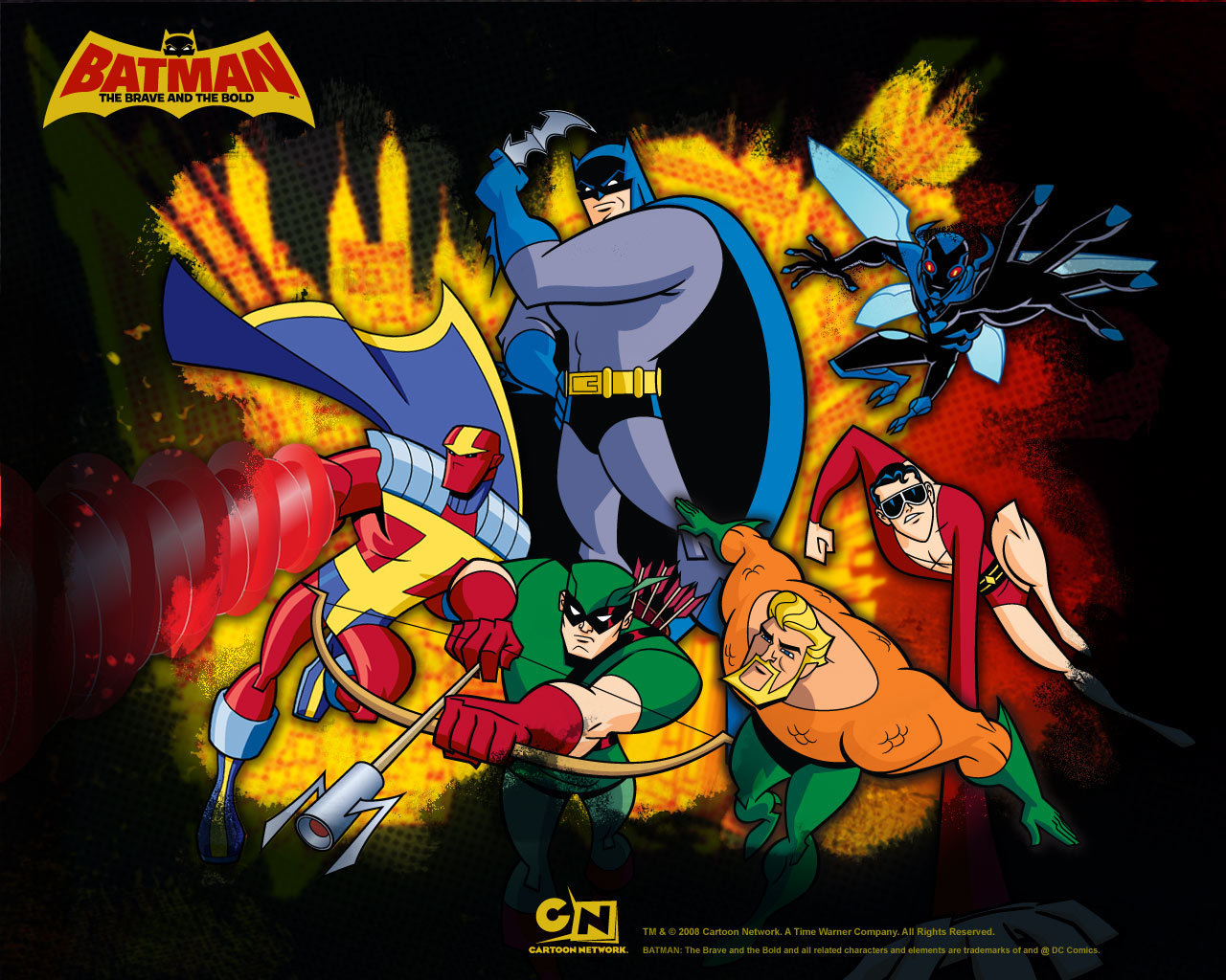 Batman The Brave And The Bold Wallpapers 30 Images