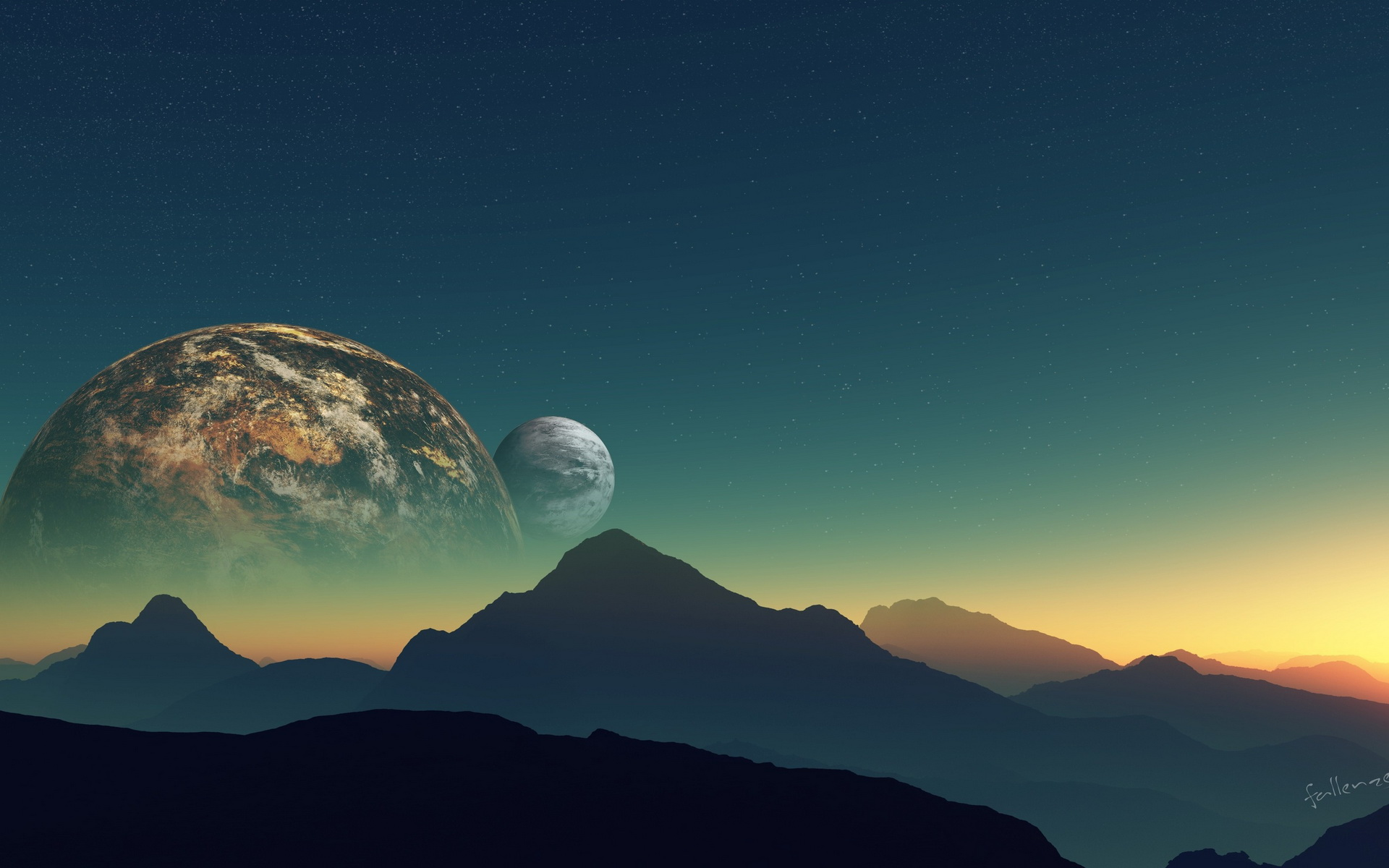 1920x1200 - Planet Rise Wallpapers 23