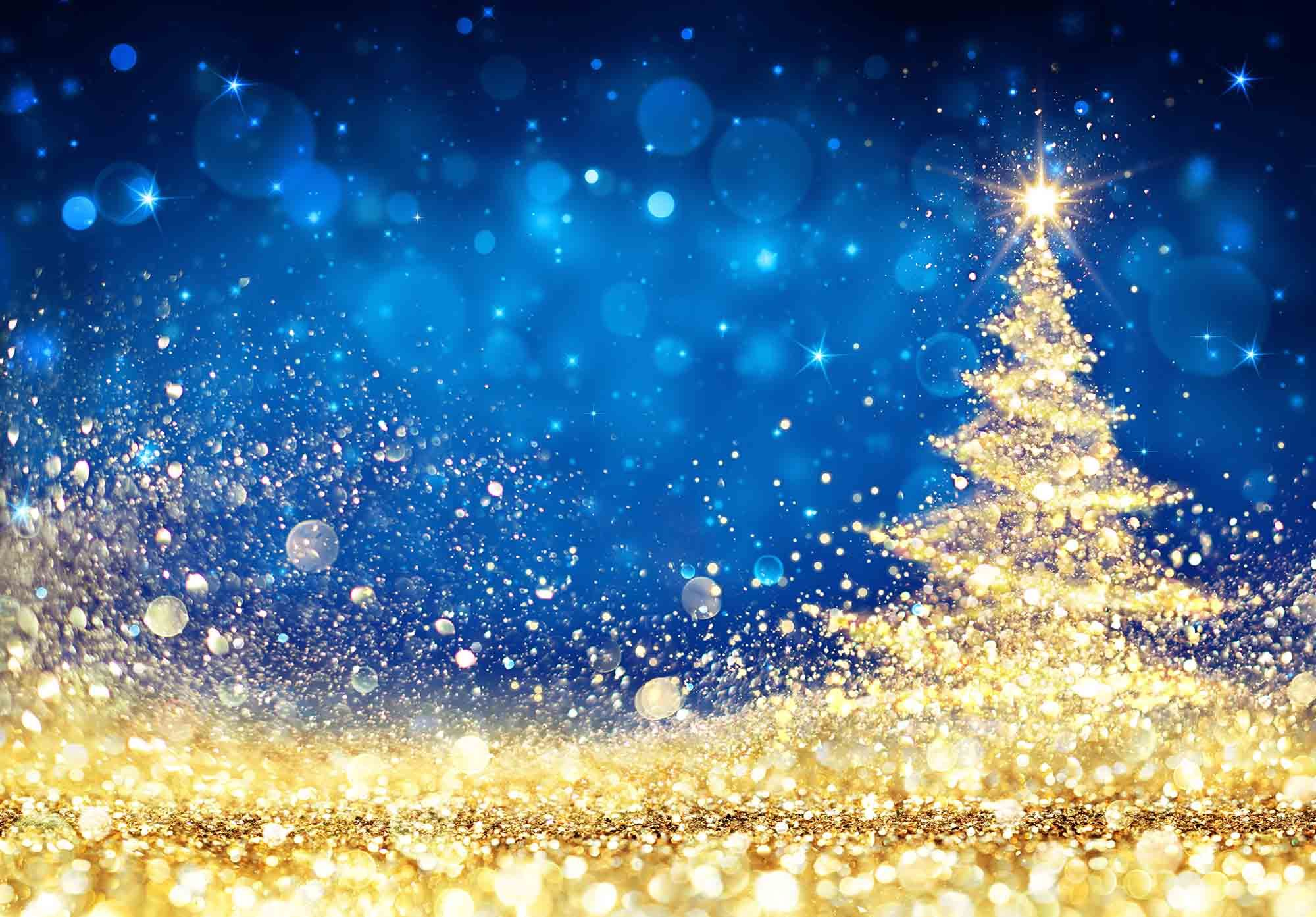 2000x1393 - Christmas Trees Backgrounds 2