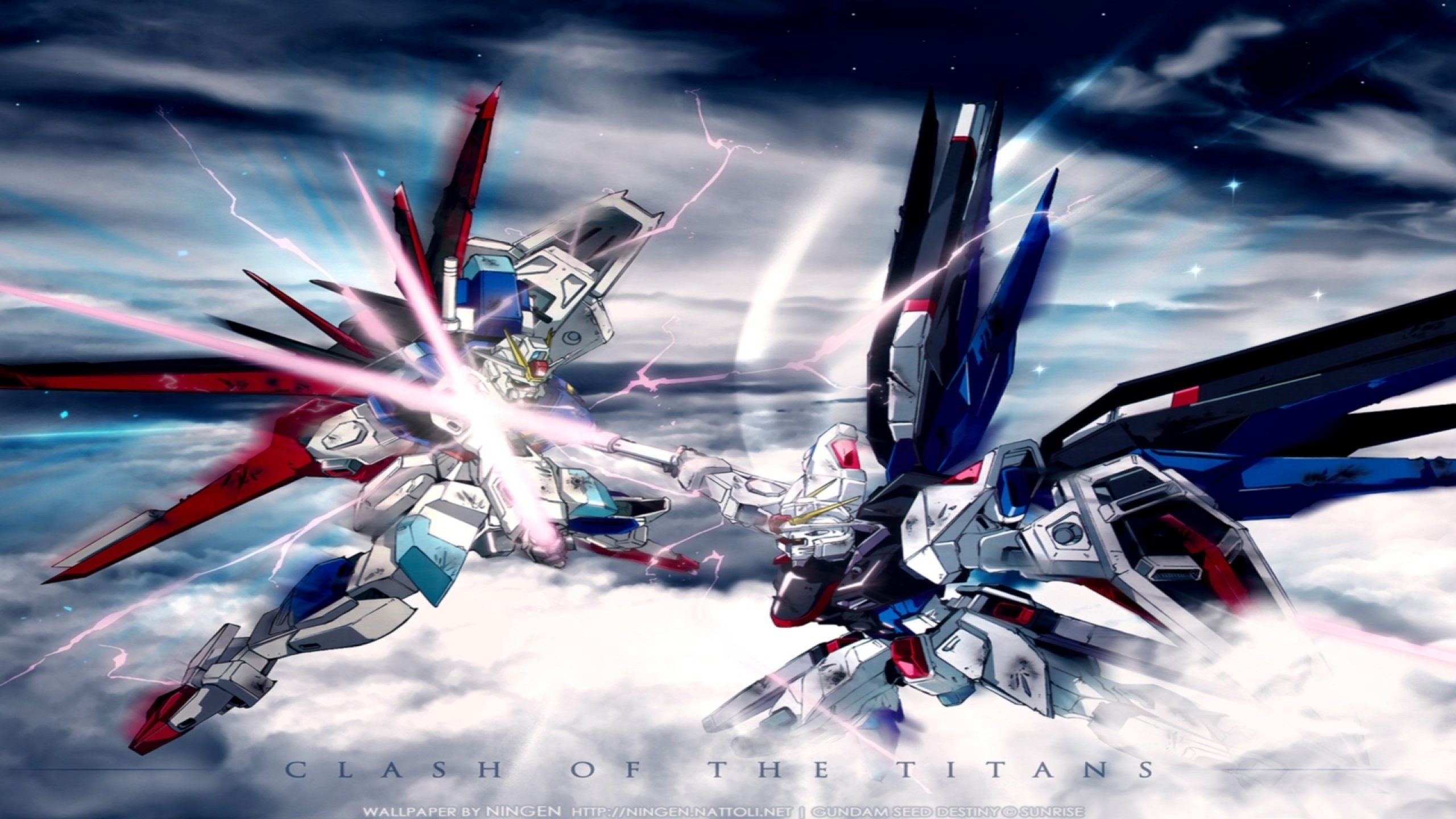 2560x1440 - Mobile Suit Gundam Seed Destiny Wallpapers 17