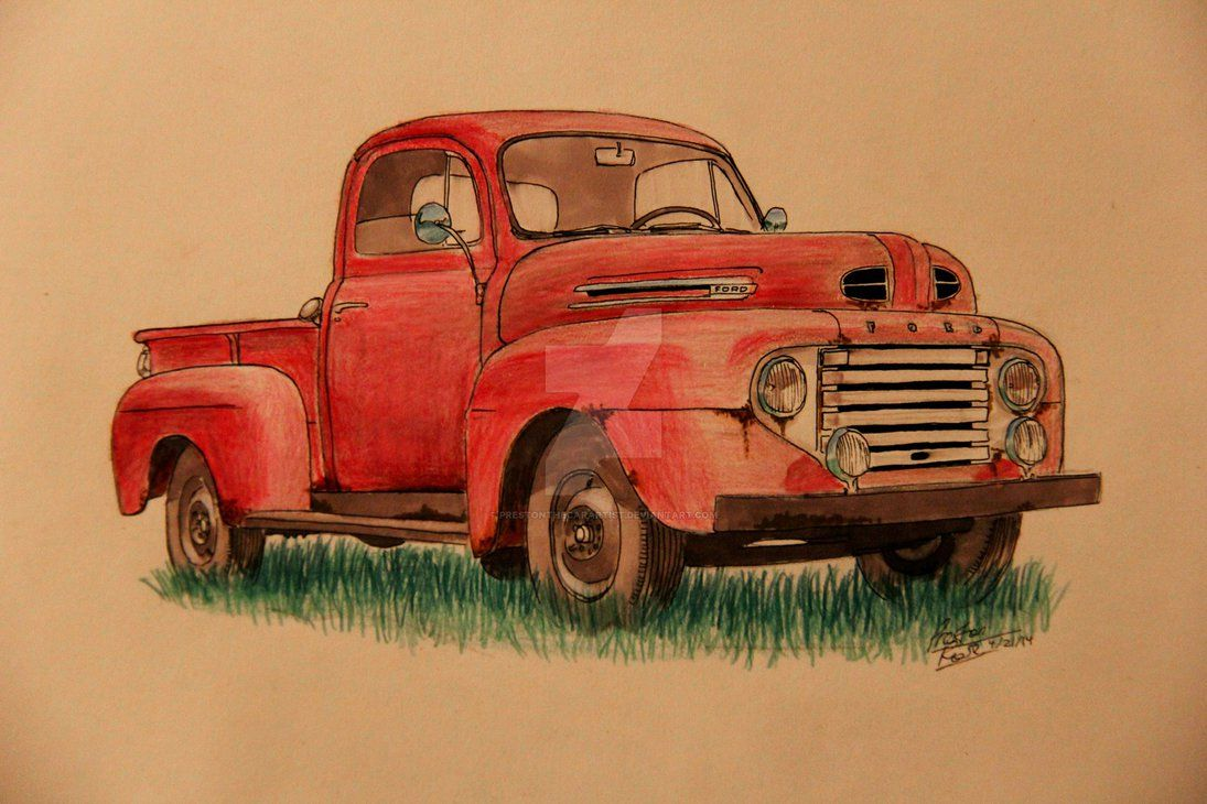 1095x730 - Old Ford Truck 9