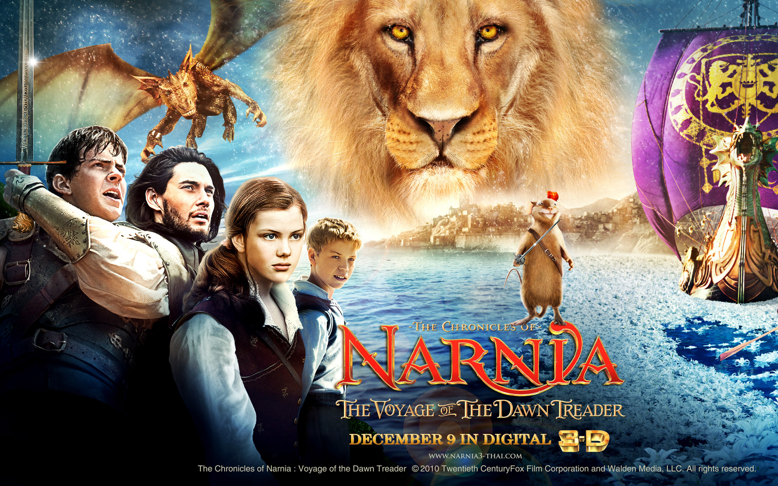 2560x1600 - The Chronicles of Narnia: The Voyage of the Dawn Treader Wallpapers 4