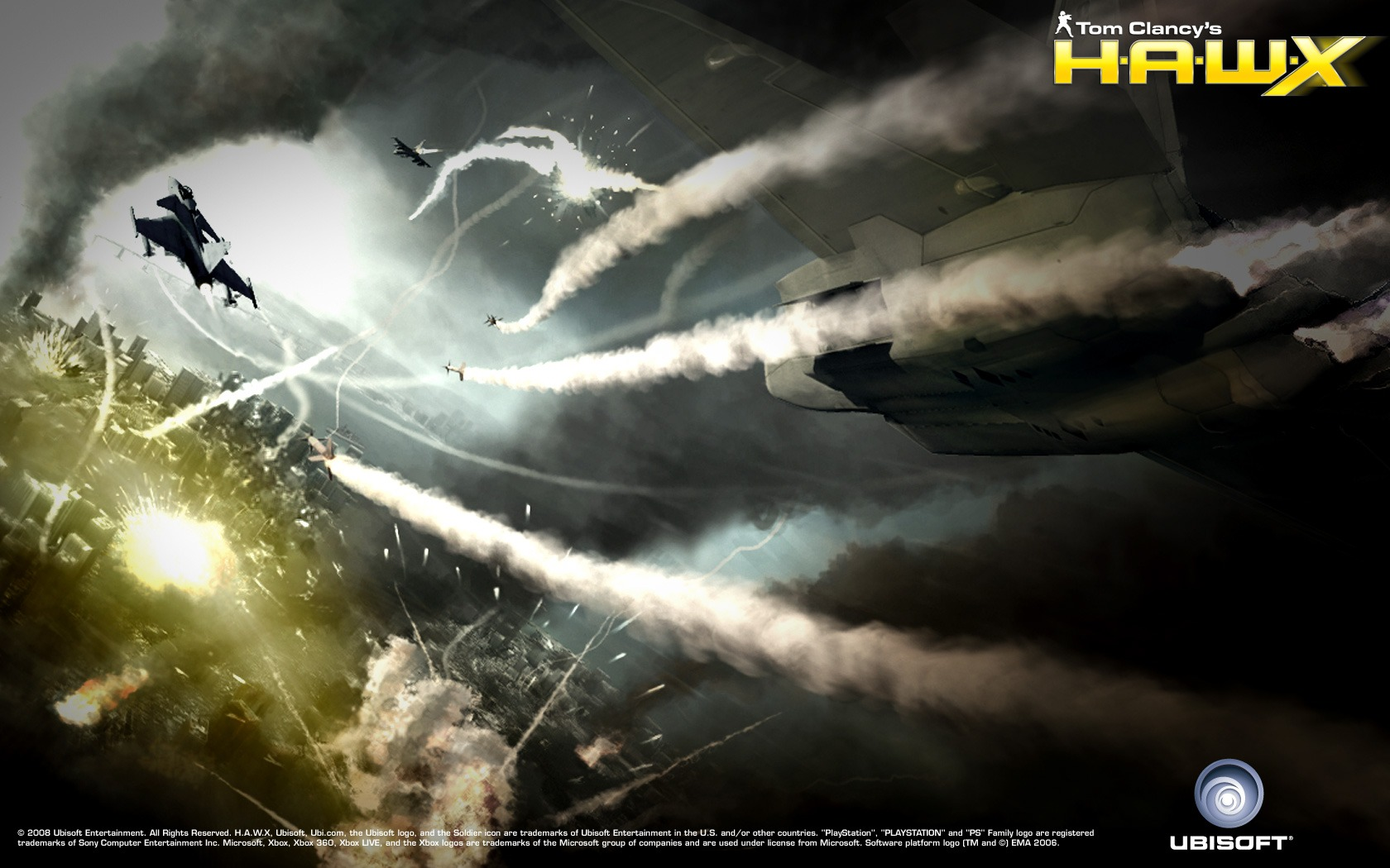 1680x1050 - Tom Clancy's H.A.W.X HD Wallpapers 29