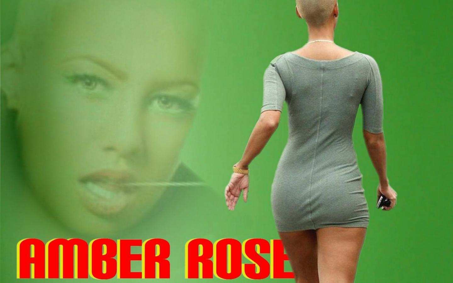 1440x900 - Amber Rose Wallpapers 30