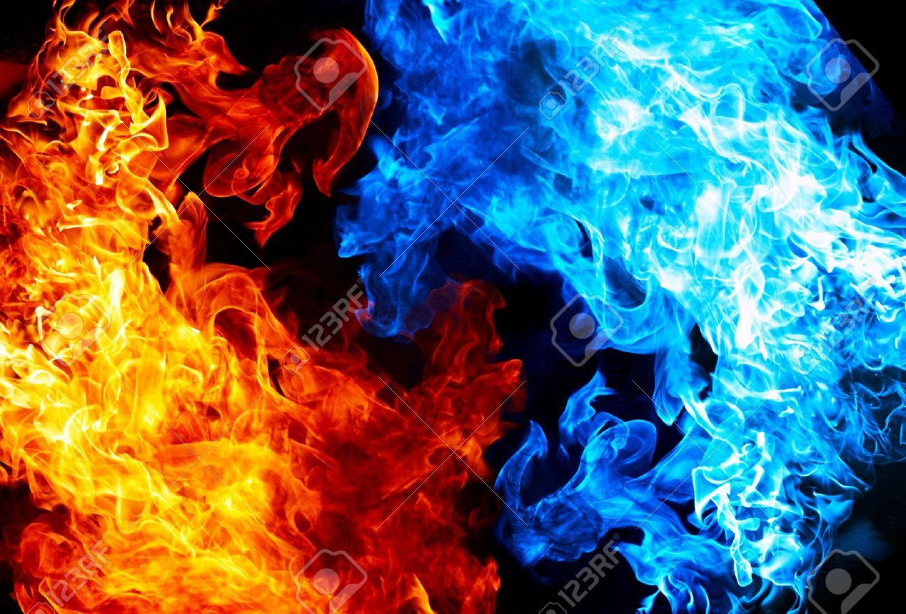 1300x882 - Red and Blue Fire 11