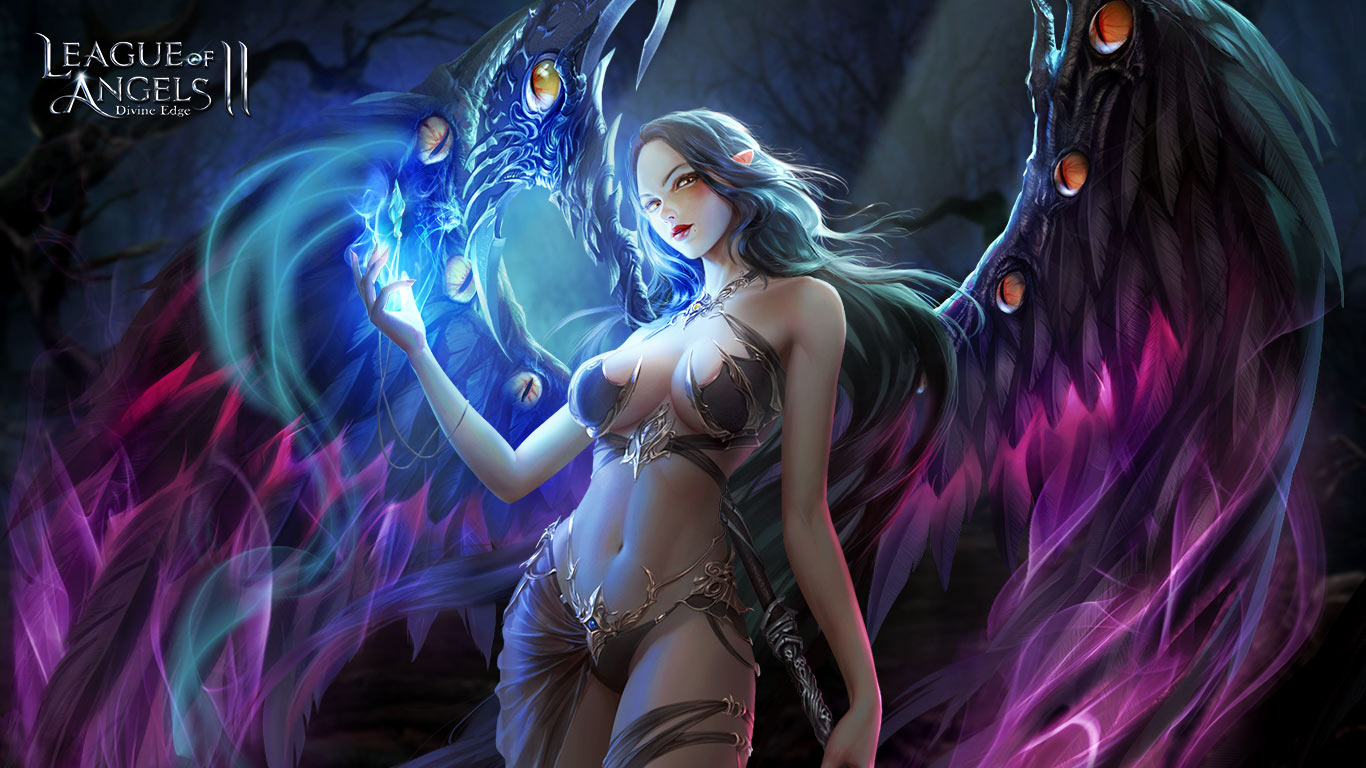 1366x768 - League Of Angels HD Wallpapers 31