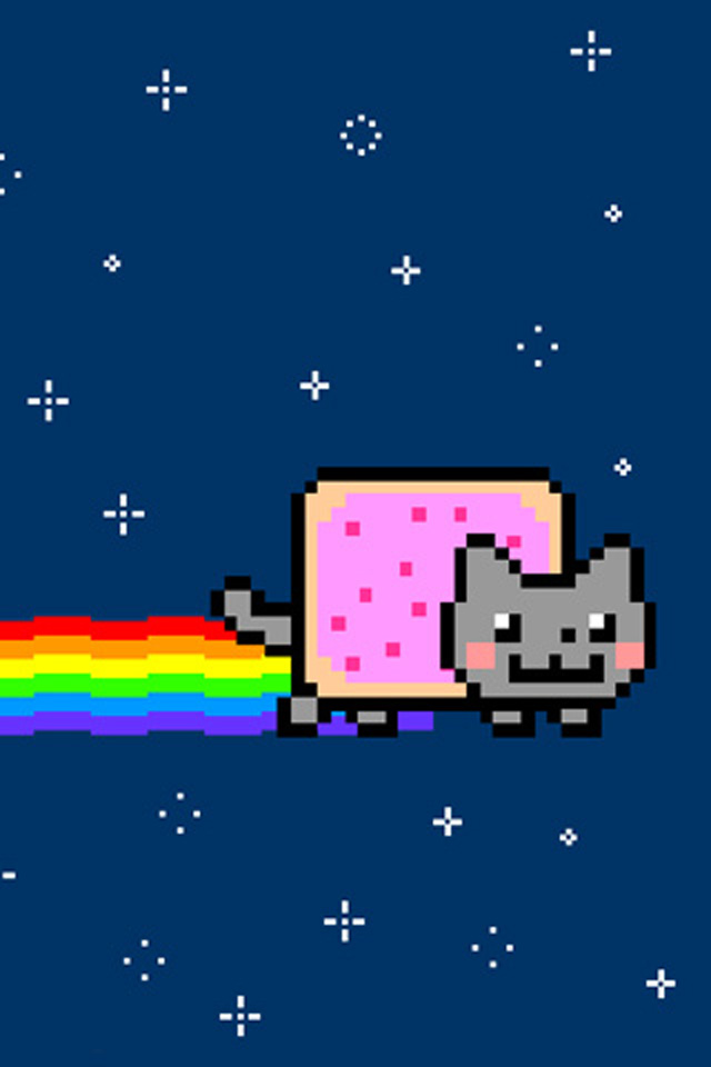 640x960 - Nyan Cat iPhone 18