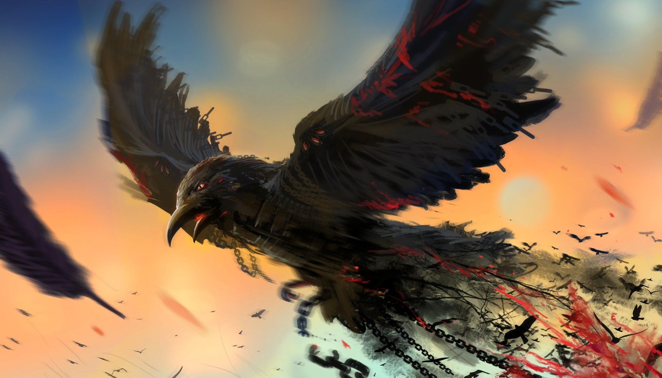2727x1556 - Raven Wallpapers 6