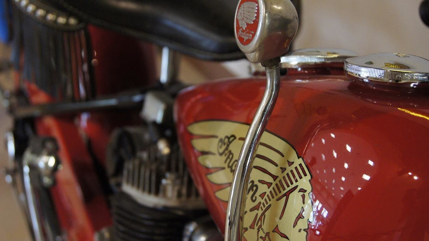 1366x768 - Indian Motorcycle Desktop 1