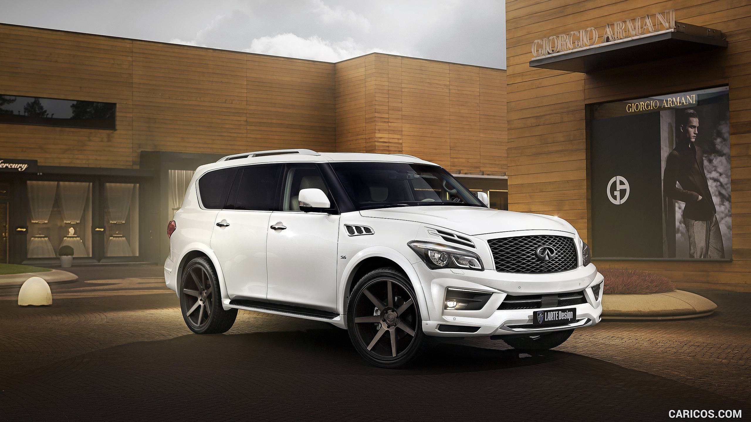 2560x1440 - Infiniti QX80 Wallpapers 27