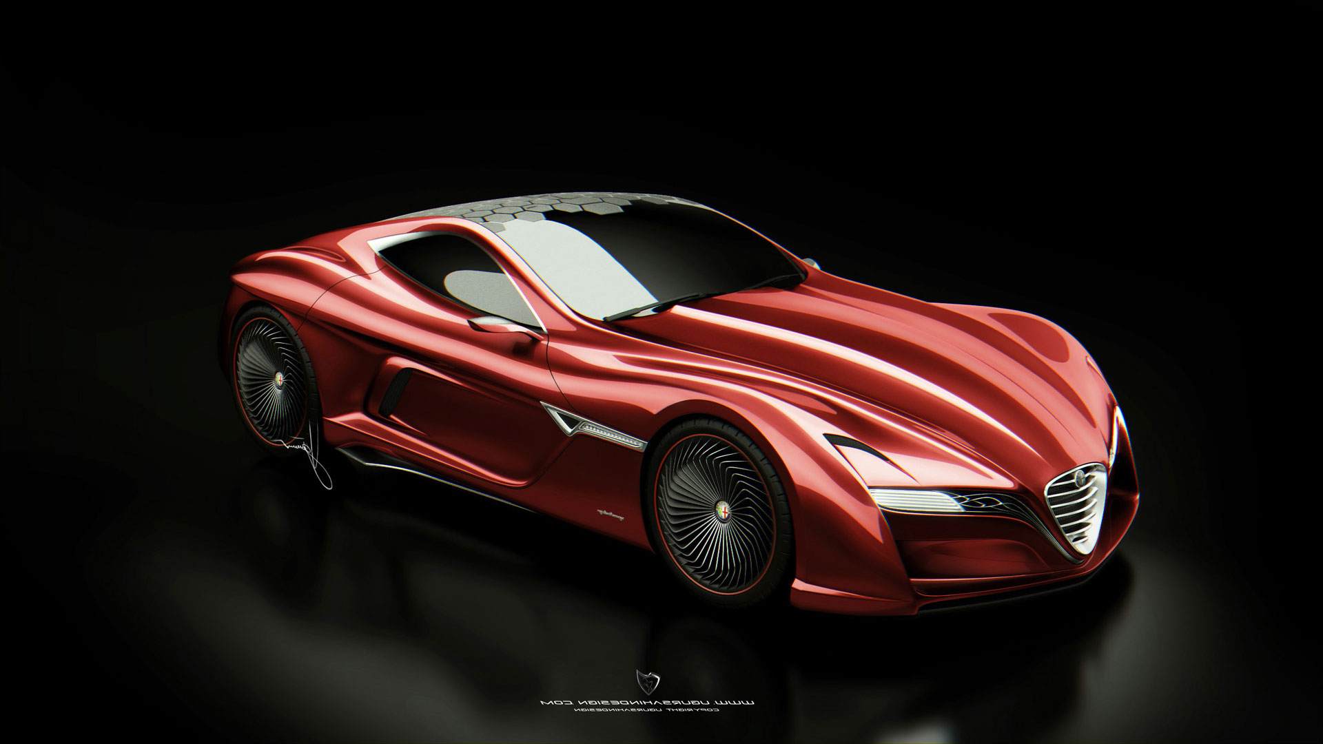 1920x1080 - Alfa Romeo 12C GTS Wallpapers 3