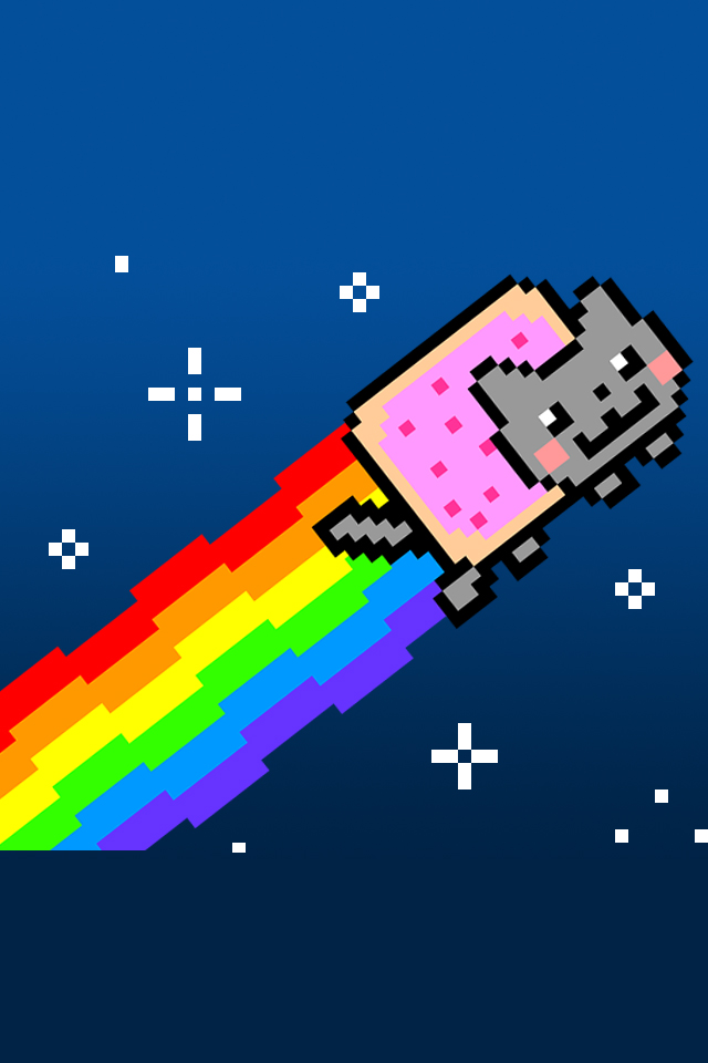 640x960 - Nyan Cat iPhone 24