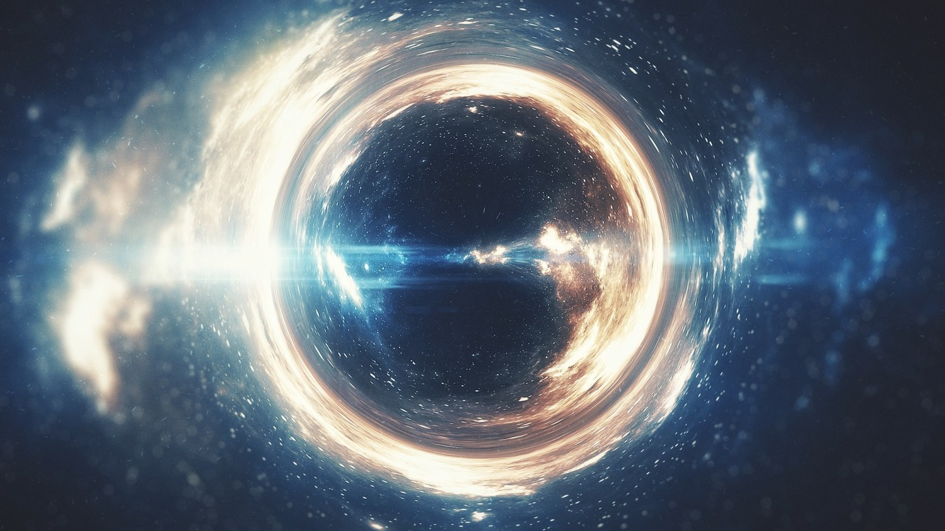 1366x768 - Black Hole Wallpapers 31