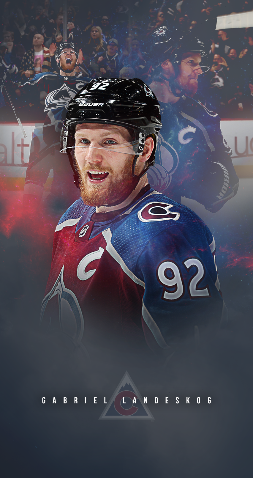 852x1608 - Colorado Avalanche Wallpapers 15