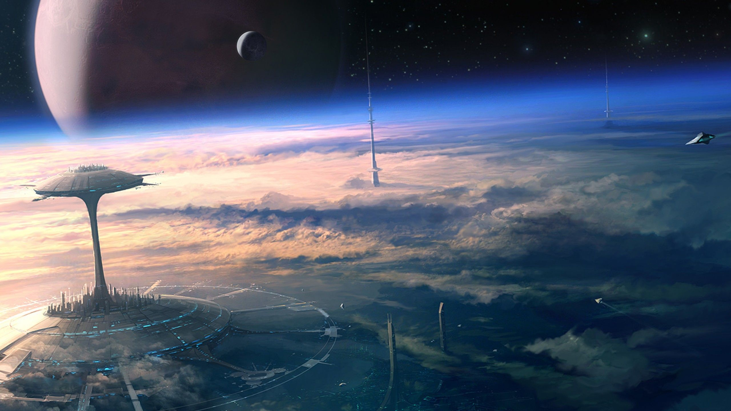 2560x1440 - Sci Fi Place Wallpapers 29