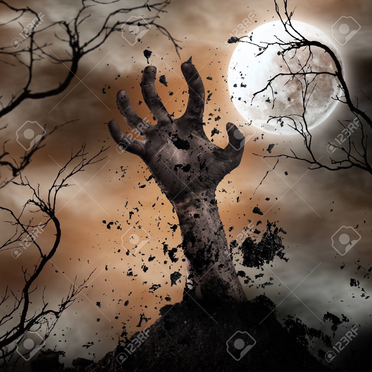 1300x1300 - Scary Halloween Background 55