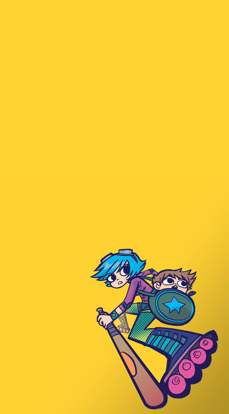 740x1334 - Scott Pilgrim iPhone 3