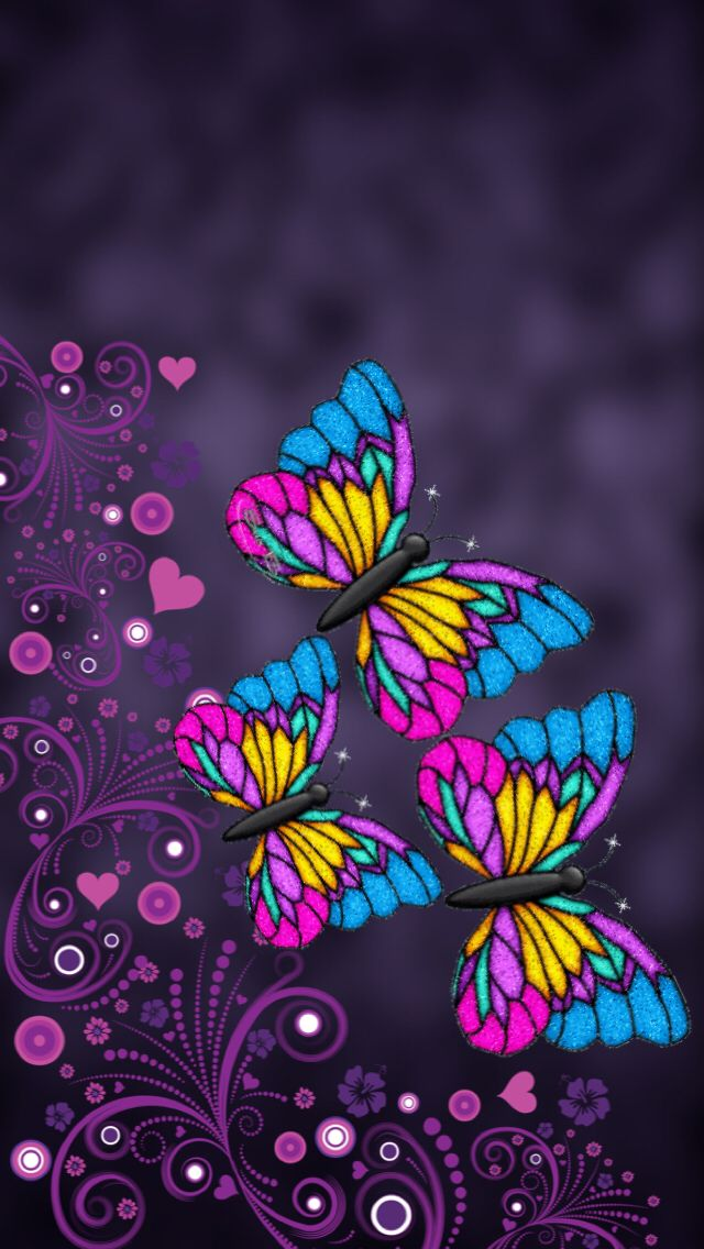 640x1136 - Pretty Butterfly Backgrounds 22