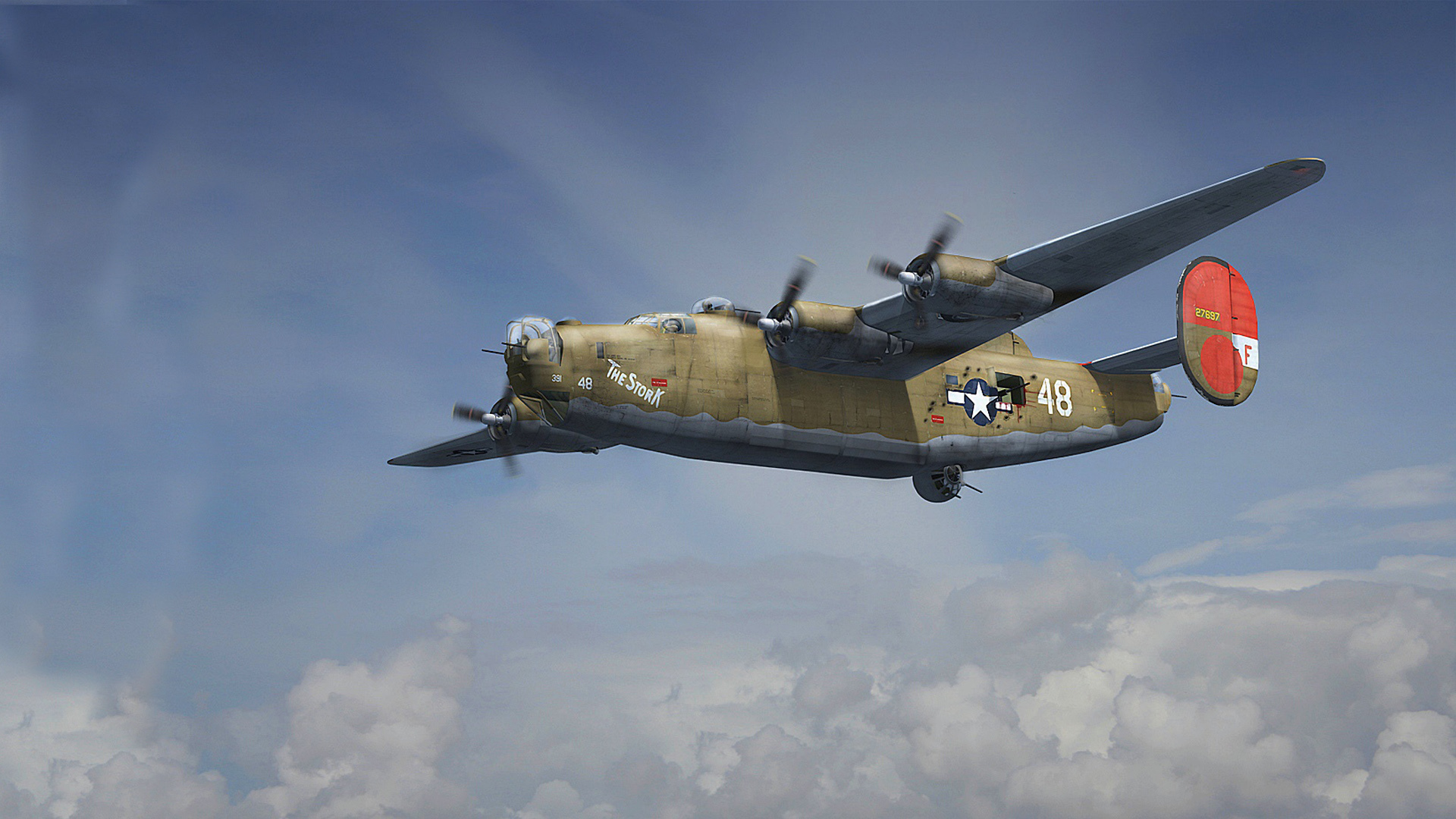 1920x1080 - Consolidated B-24 Liberator Wallpapers 5