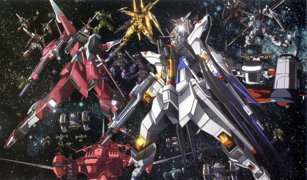 1024x599 - Mobile Suit Gundam Seed Destiny Wallpapers 24