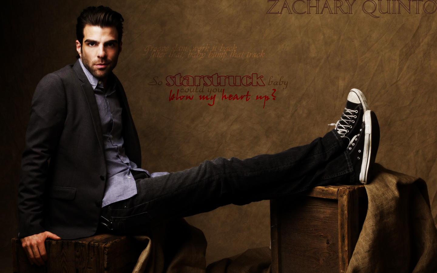 1440x900 - Zachary Quinto Wallpapers 2