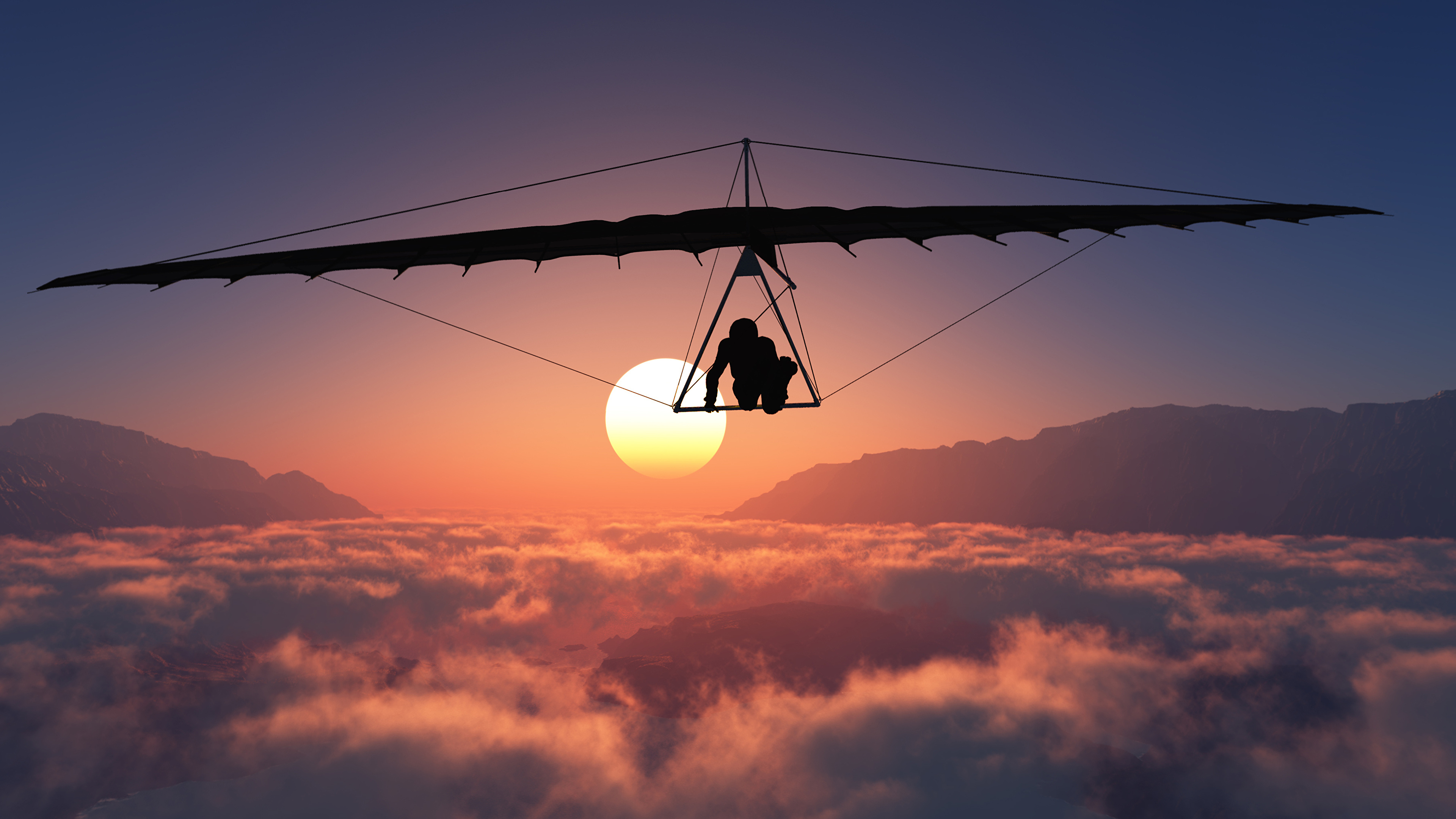 3840x2160 - Hang Gliding Wallpapers 4
