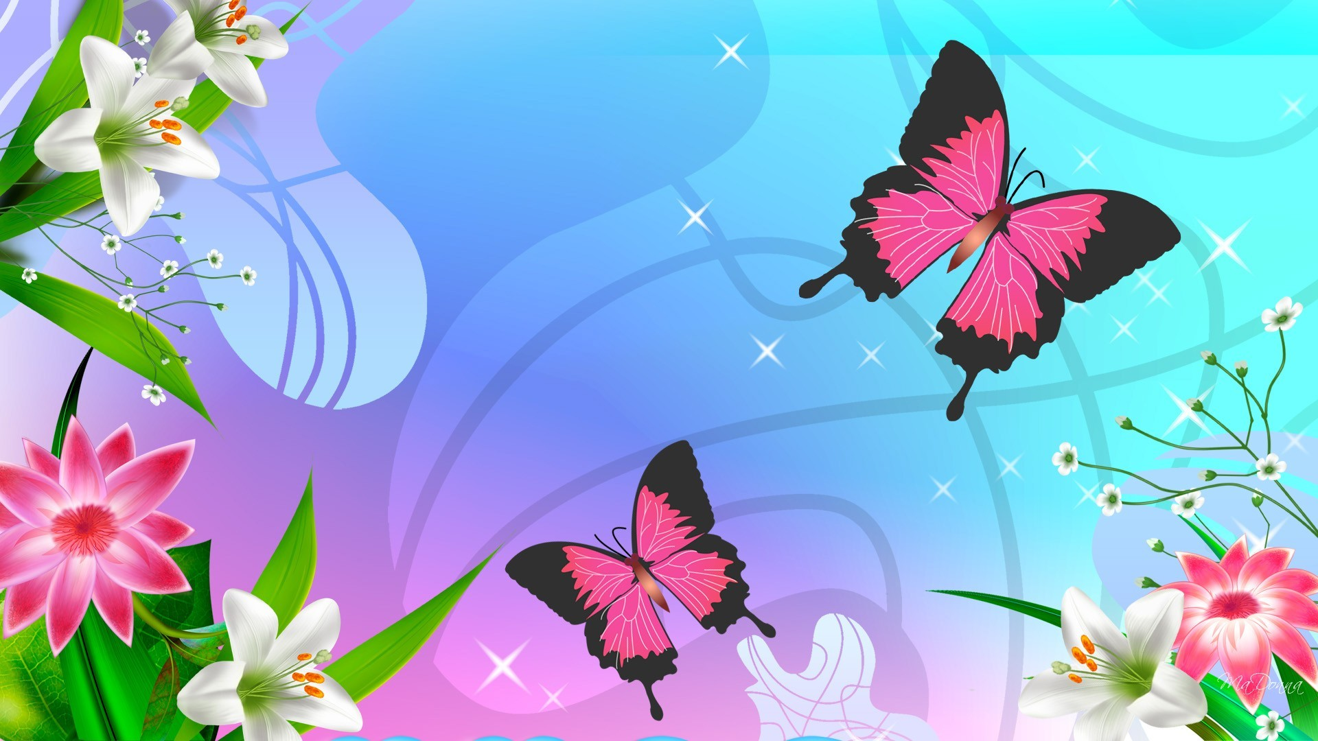 1920x1080 - Pretty Butterfly Backgrounds 35