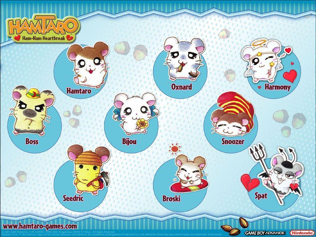 1024x768 - Hamtaro Background 28