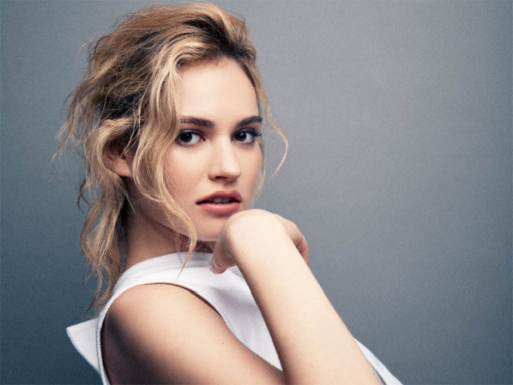 1024x768 - Lily James Wallpapers 7