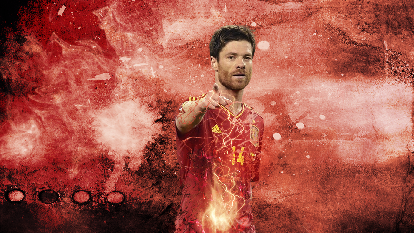 1366x768 - Xabi Alonso Wallpapers 1