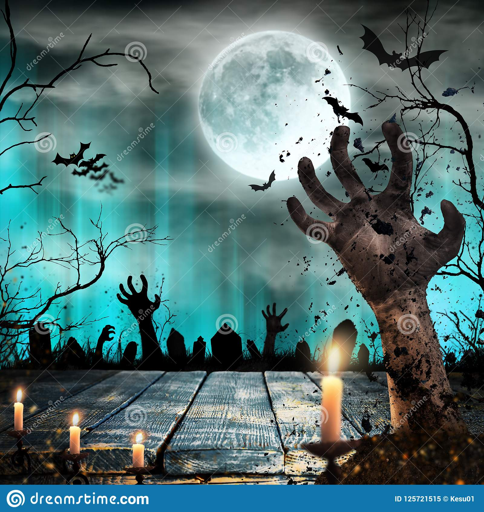1600x1690 - Scary Halloween Background 46