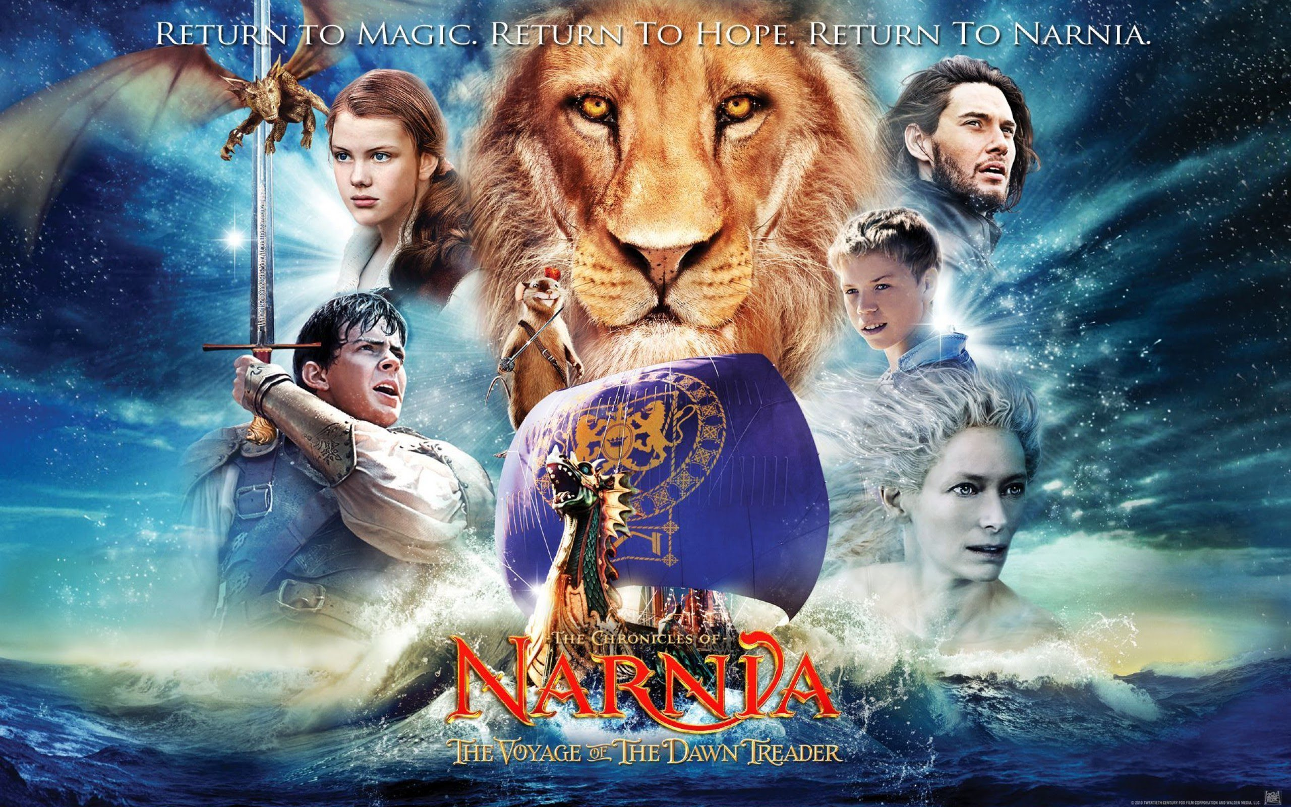 2560x1600 - The Chronicles of Narnia: The Voyage of the Dawn Treader Wallpapers 9