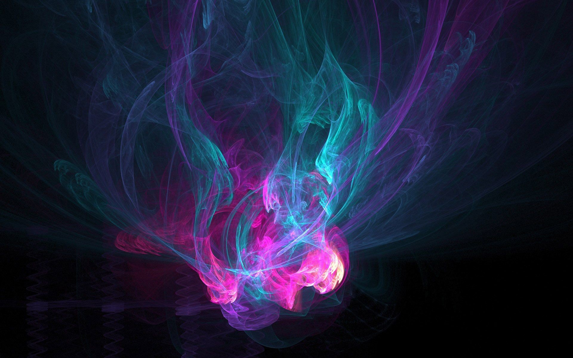 Hd Abstract Wallpaper Neon Smoke 62 Images Dodowallpaper