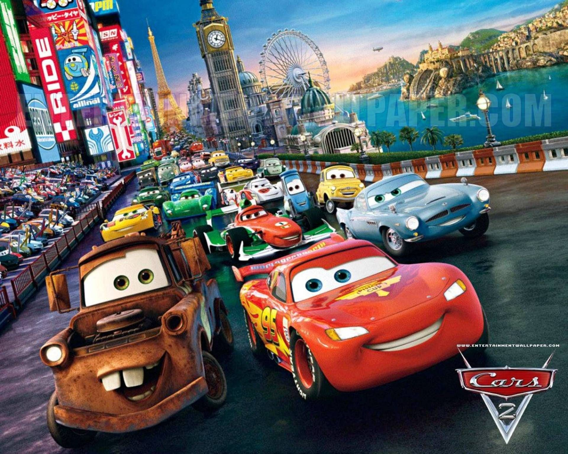 1920x1536 - Wallpaper Cars Cartoon 20
