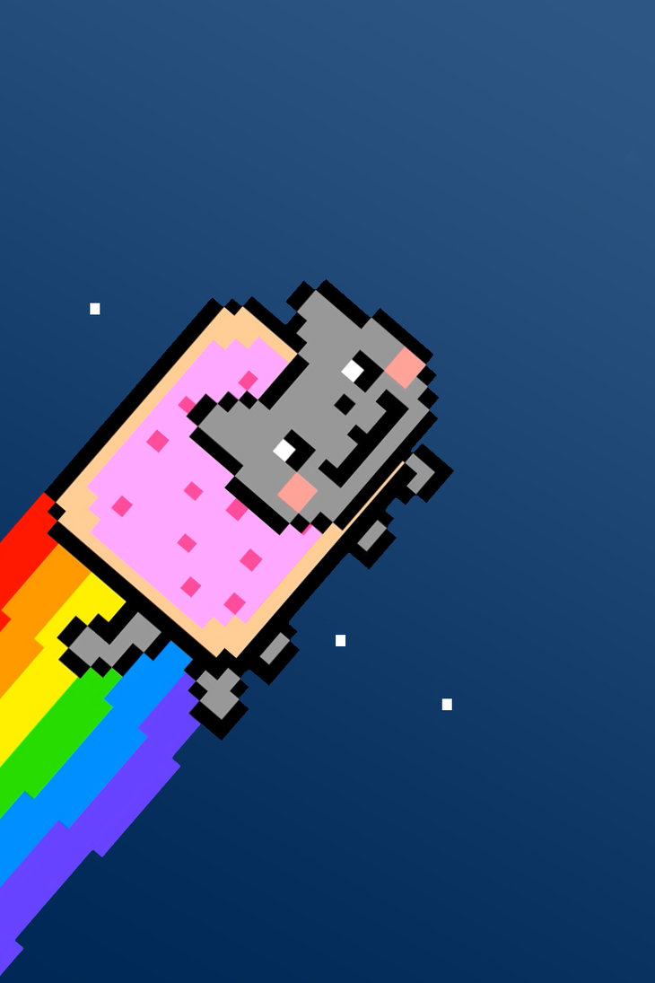730x1095 - Nyan Cat iPhone 27